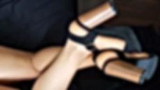 collants odorants fétichiste des pieds les collants de laura
