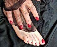 collants odorants fétichiste des pieds