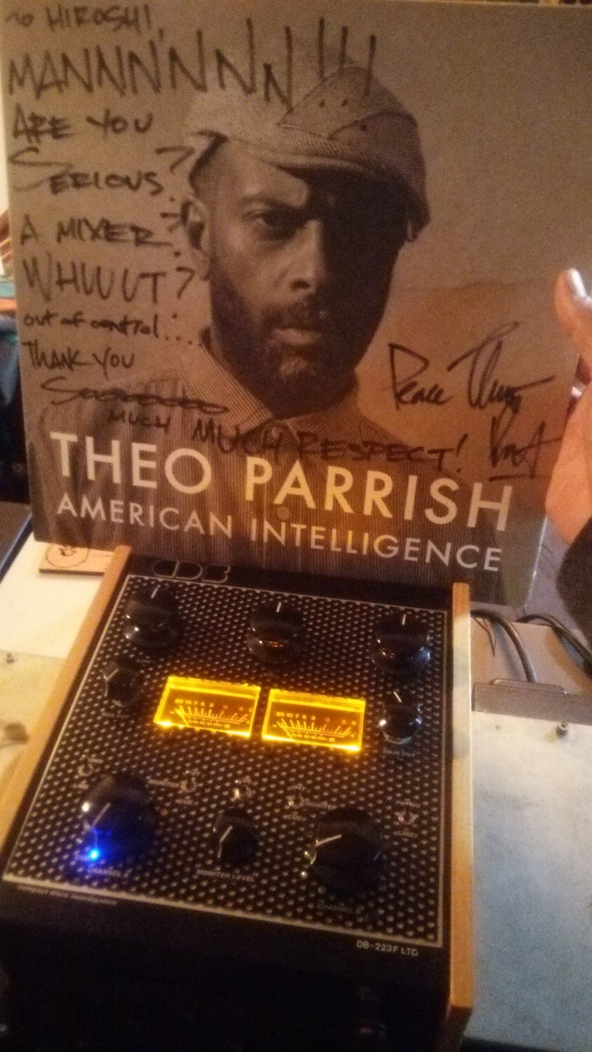 Thanks! Mr Theo Parrish