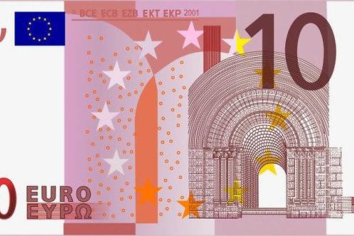 Доплата 10 евро