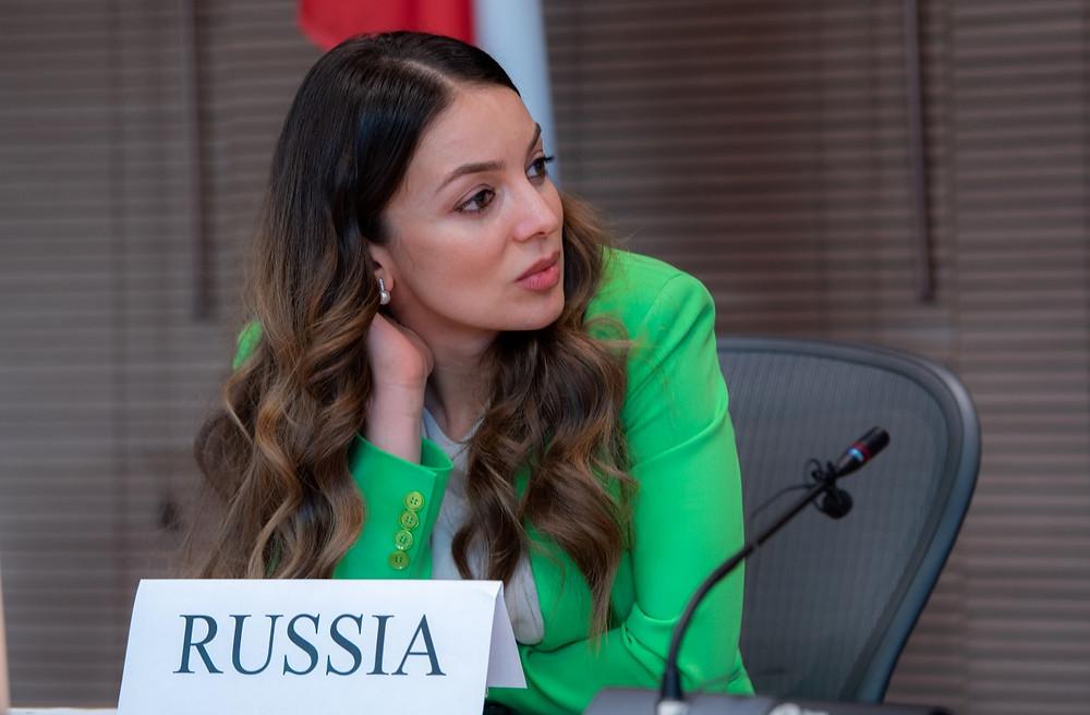 Зарина Догузова, глава Ростуризма