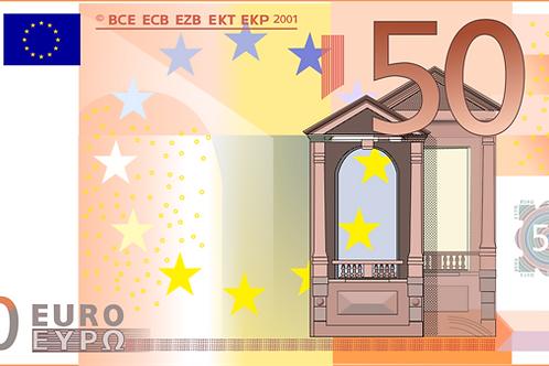 Доплата 50 евро