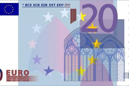 Доплата 20 евро