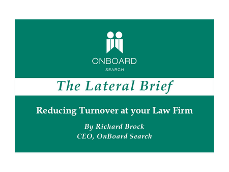 Reducing Turnover at your Law Firm