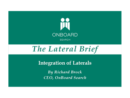 Integration of Laterals