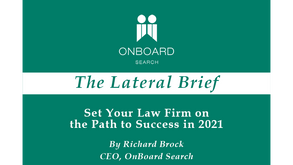 Set Your Law Firm on the Path to Success in 2021