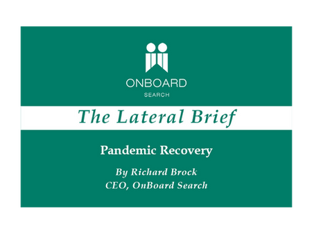 Pandemic Recovery