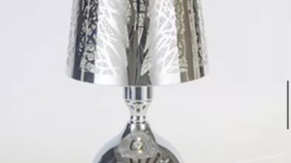 Silver aroma lampshade wax lamp