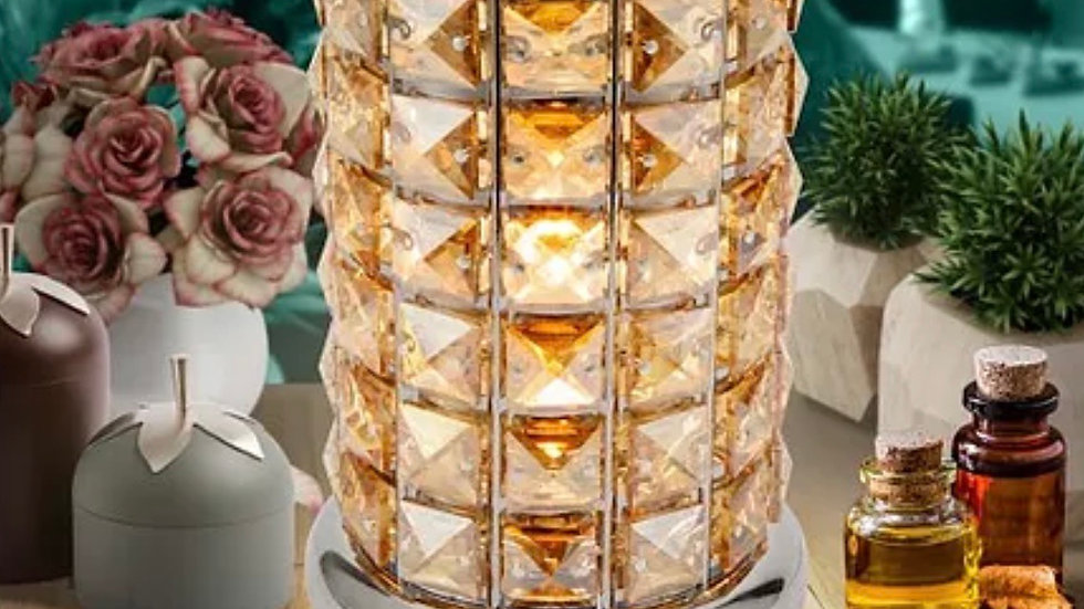 Coffee crystal wax aroma touch lamp