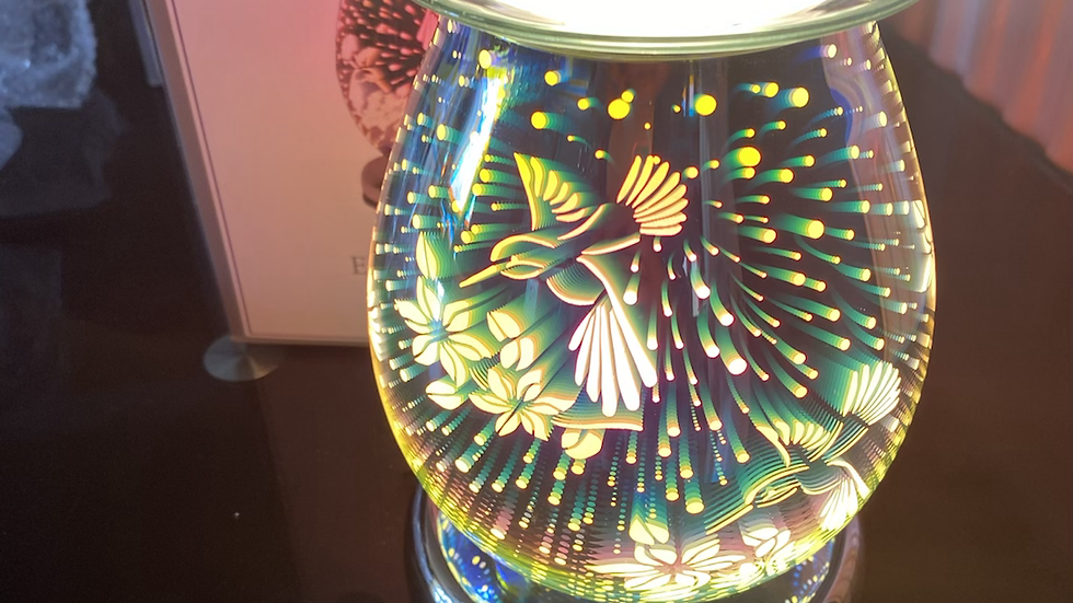 Humming bird electric touch lamp