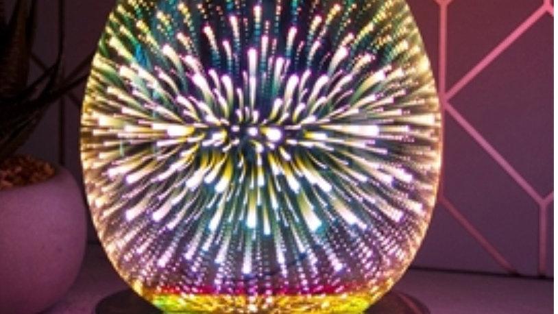 Touch Sensitive Round Aroma Lamp - Firework