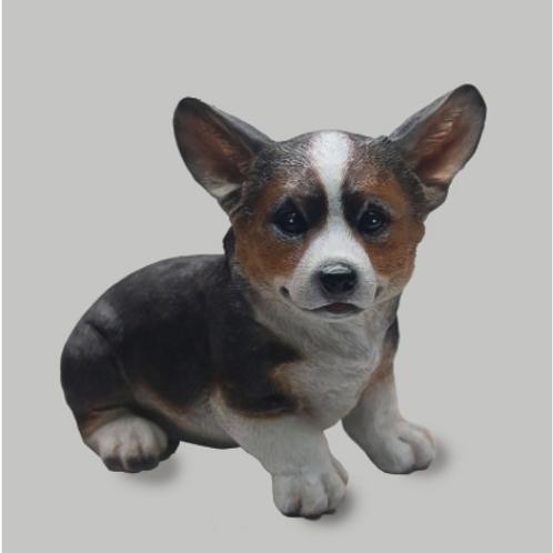 "10"" Pembroke Welsh Corgi puppy Figurine"