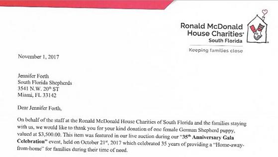 Ronald McDonald House Charities South Florida