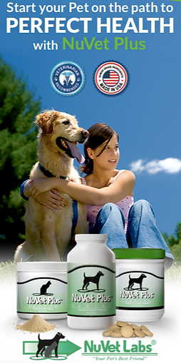 NuVet Flyer Pet Vitamins