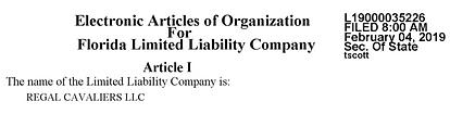Regal LLC number.png