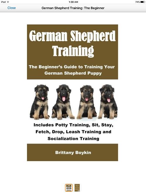 German Shepherd Training: The Beginner's Guide