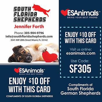 ESAnimals Logo Emotional Support Dog