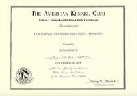 Faberge CGCU certificate.png