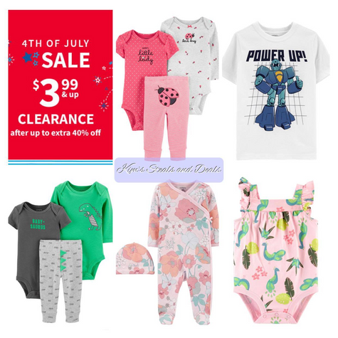 4th of July Sale at Carter's!!