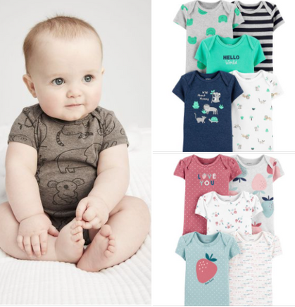 Carter's 5-Pack Bodysuits drop to ONLY $7.35