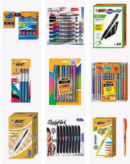DEAL of the D-A-Y ~ Up to 58% OFF Bic Writing Tools!!