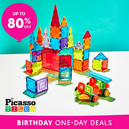 LOWEST Price I've seen on the Picasso Tiles