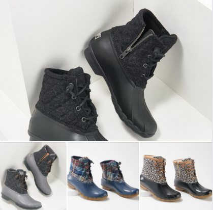 RUN DEAL!!! Sperry Duck Boots ONLY $43 + Free Shipping