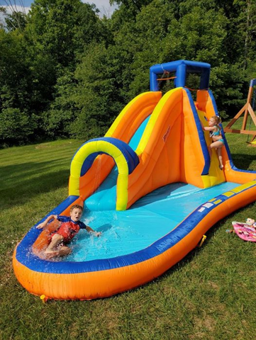 🔥 Our Banzai Slide 'N Soak Splash Park is marked down + get back $100 in Kohl's Cash