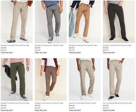 $12 Pants! Out of control prices!!!