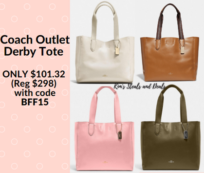 Double Deal on Coach Tote!