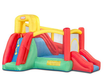 The Little Tikes Double Fun Slide 'n Bounce is $100 OFF!
