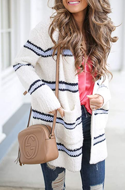 Gorgeous, soft knit sweater drops half off with group code!