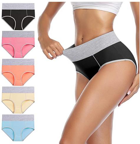 40% OFF wirarpa Women's Cotton Underwear