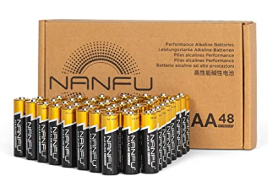 Use my code to get 40% Off AA's, AAA's or 9Volt batteries