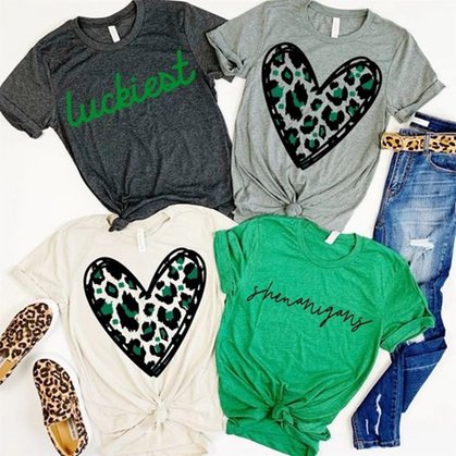 Snag your St. Patty's Day Tee!!