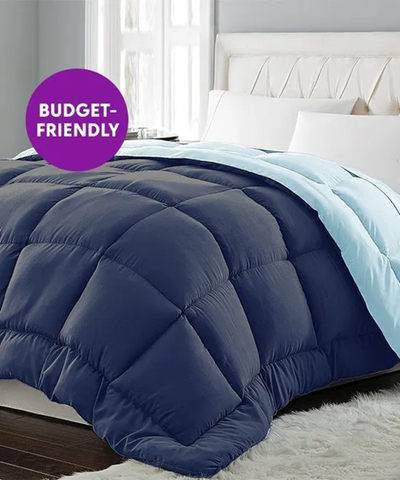 Comforter is Perfect weight for warmer weather!