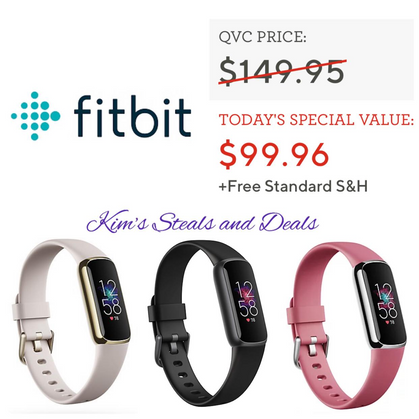 ONLY $89.96 Shipped: Fitbit Luxe Fitness & Wellness Smart Wearable