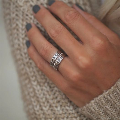 Stackable Rings marked down + ship free