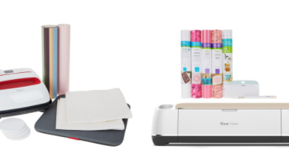 If you've been eyeing a Cricut machine, today is your Lucky Day!!