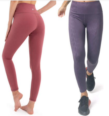 Non See-Through Stretch Leggings are just $11.99 (Reg $40)