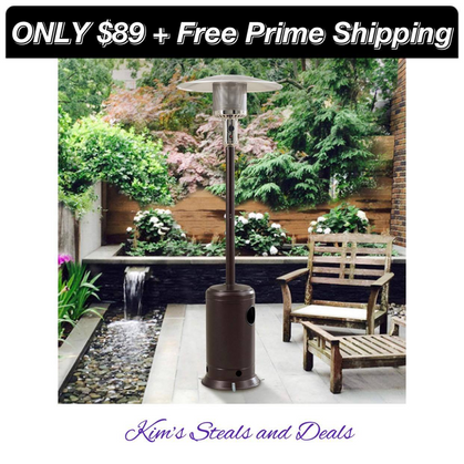 Propane Heater ONLY $89 Shipped!!