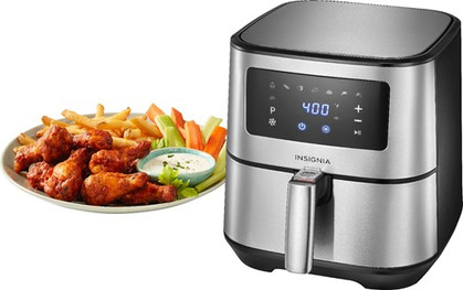 ONE DAY ONLY!! The Insignia™ - 5-qt. Digital Air Fryer is ONLY $49.99