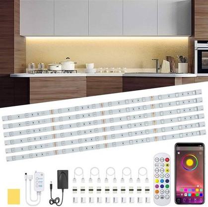 6-Piece Under Cabinet LED Lighting Kit ONLY $20