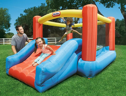 Little Tikes Jr. Jump 'n Slide Bouncer since 30% OFF + Free Prime Shipping