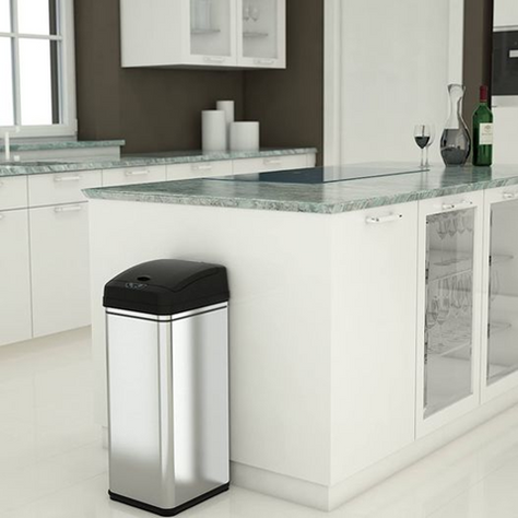 iTouchless Trash Can also Absorbs Odors and 29% OFF!