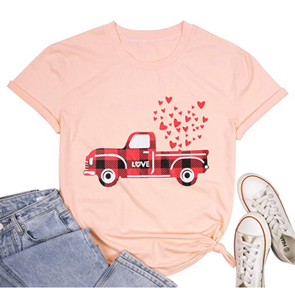 Valentine Tees - $8.99 + free prime shipping!!