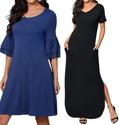 Comfy summer dresses drop 50% w/code!