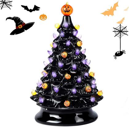 Ceramic Halloween Tree 50% OFF!!