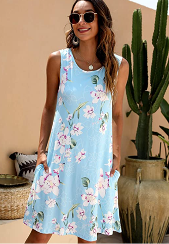 T-Shirt Dress WITH Pockets? Love it!