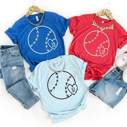 Snag these Custom Baseball Tees for under $20 + Free Shipping